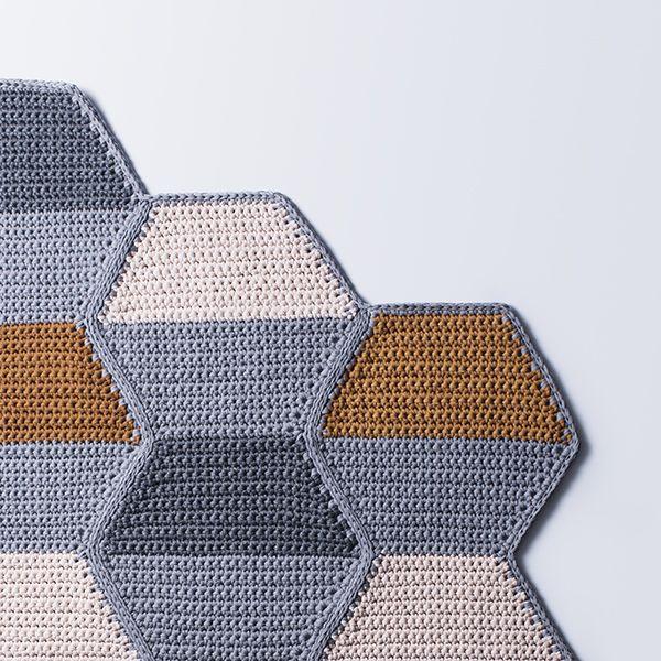 LUTTER LØKKER | Lutter Idyl Crochet rug