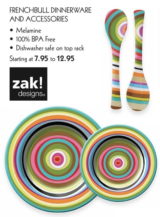 zak! designs. - dinnerware & accessories