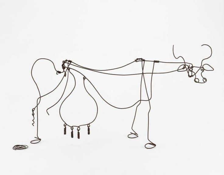Copy Of Calder Wire Sculpture