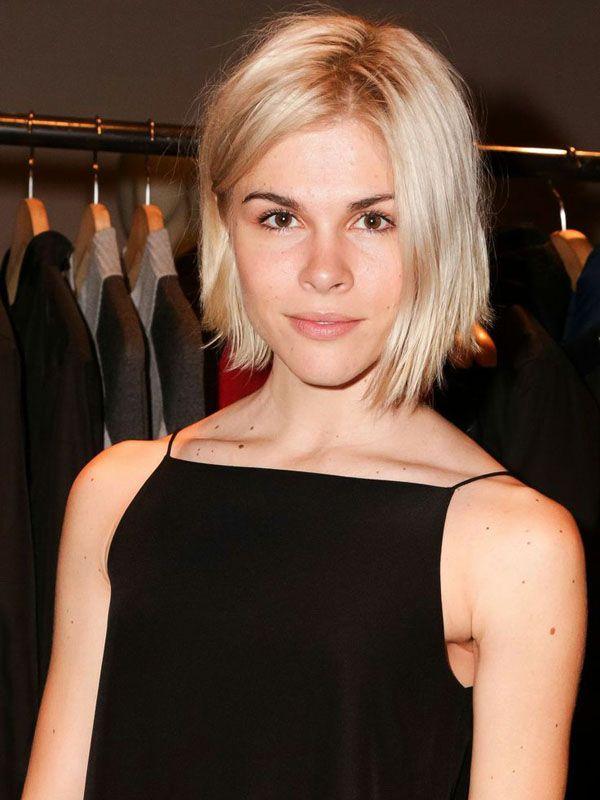Emily Weiss platinum blonde hair colour inspiration: http://beautyeditor.ca/2014/07/09/platinum-hair-at-home/