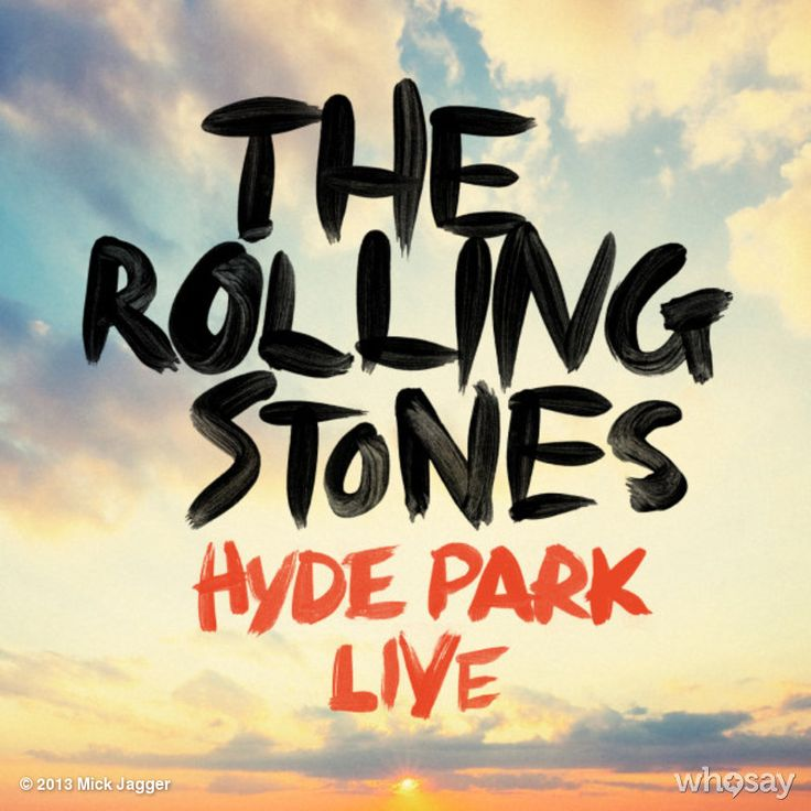 """Mick Jagger's photo """"Our Hyde Park concerts have j...""""  on @Jose Quilisadio"""