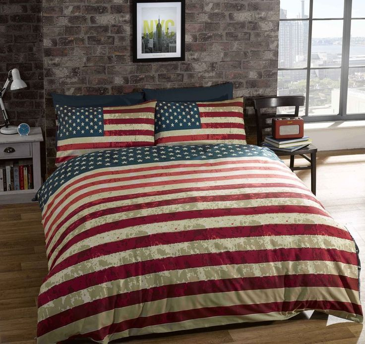 Image result for small american flag bedrooms