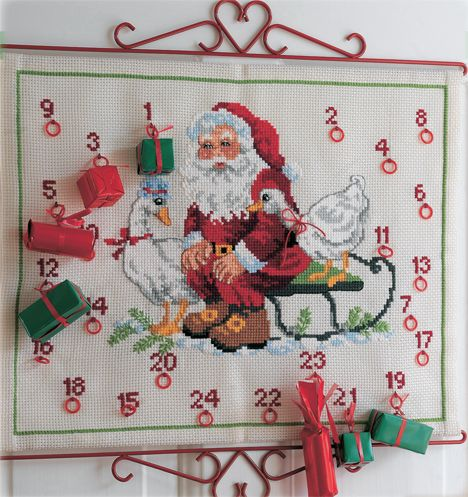Julens hyggeligste broderier - Hjemmet DK