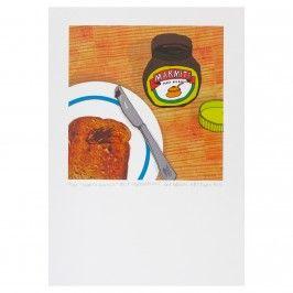 Howkapow - Marmite & Toast Print