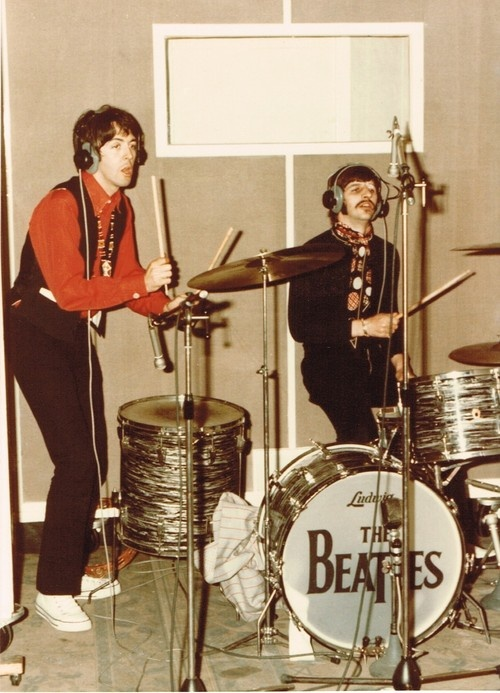 Recording the beatles.
