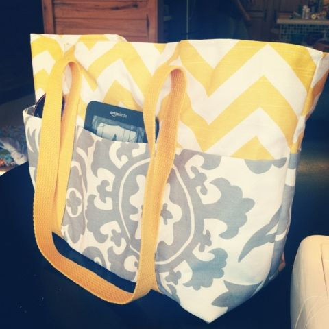 Finding North: DIY Tote/Diaper Bag
