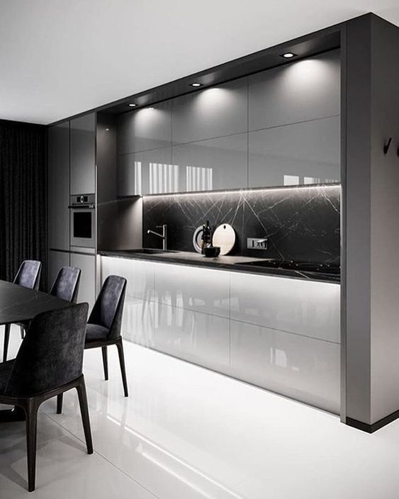 25 amazing contemporary kitchen decoration cabinet…