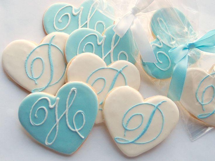 engagement favors   ms, Wedding Monogram Cookies, Wedding Cookies by Rolling Pin ...