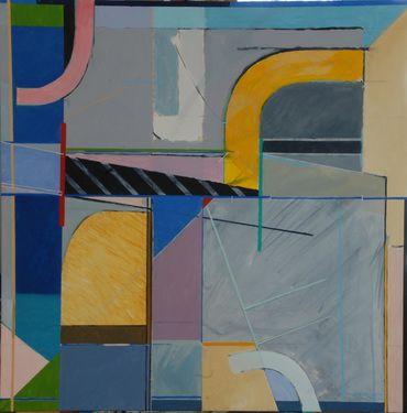 "Saatchi Art Artist Michael Newman; Painting, ""Wedge"" #art"