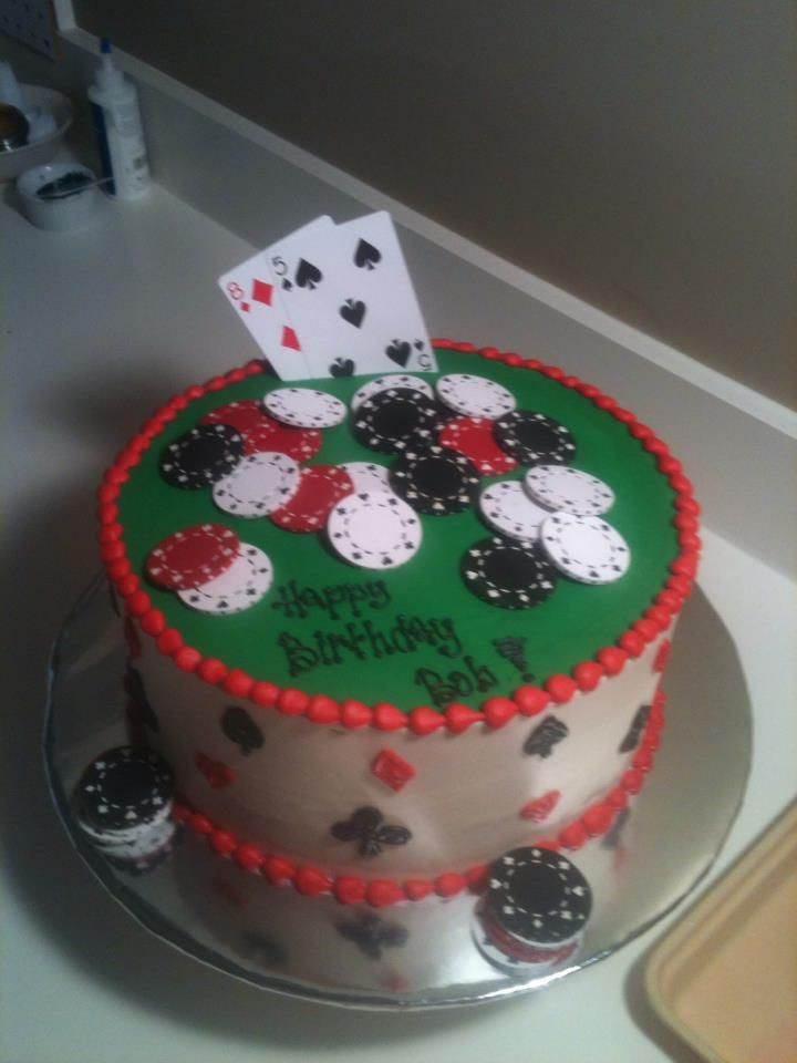 25 Best Ideas About Poker Cake On Pinterest Vegas Theme