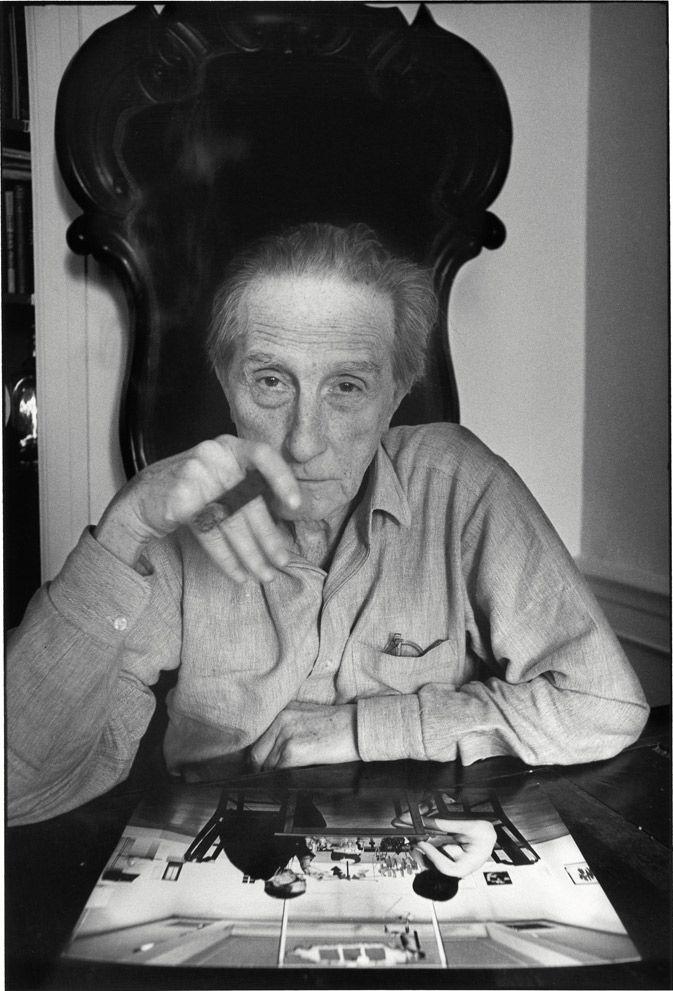 Marcel Duchamp, New York, 1964-1965, Photographed by Ugo Mulas.