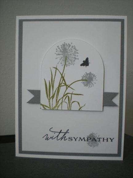 sympathy card with gray: Card Club, Card Tricks, Beautiful Color, Card Creations, Card Ideas Misc, Sympathy Card, Card Making, Scrapbooking Card, Card Inspiration