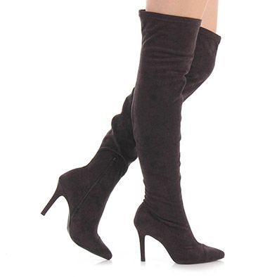 Bota Over The Knee Feminina Vizzano - Preto
