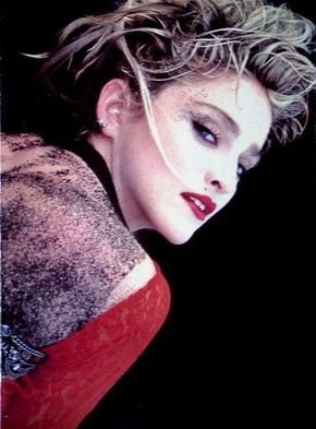 This is the tour program for Madonna's 1985 Virgin Tour, with pictures from Herb Ritts and Steven Meisel.