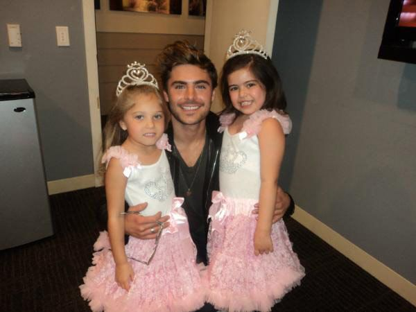 Men with kids....cant get any better...except for when It's Zac and Sophia!
