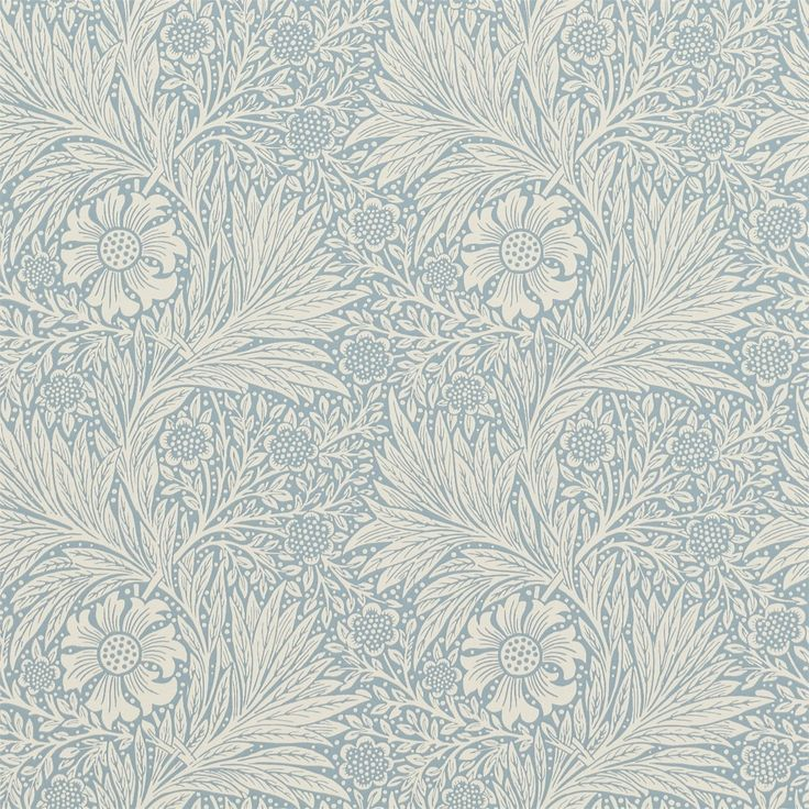 The Original Morris & Co - Arts and crafts, fabrics and wallpaper designs by William Morris & Company | Products | British/UK Fabrics and Wallpapers | Marigold (DM6P210368) | Archive Wallpapers