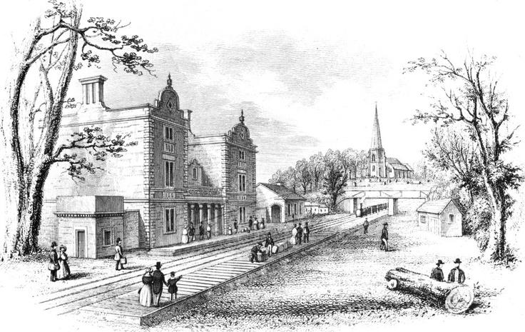 Original Lichfield city Train station