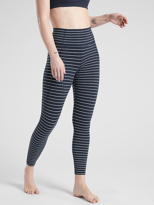 d221763bd8f01 Stripe Salutation 7/8 Tight In Powervita in 2019 | Shopping Wishlist:  Spring + Summer 2019 | Tights, Fabric, Fashion