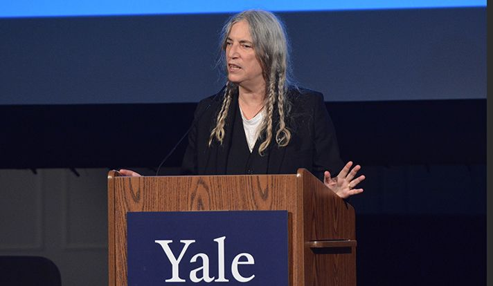Music icon Patti Smith shares her creative process and ponders the compulsion to write