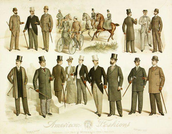 1880s fashion men - Google Search