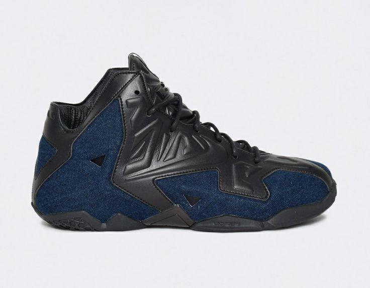 #Nike Lebron James XI Denim #sneakers