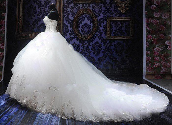 25 Best Ideas About Puffy Wedding Dresses On Pinterest