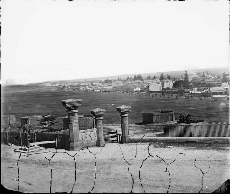Anzac Pde at Moore Park in the eastern suburbs of Sydney in 1875.