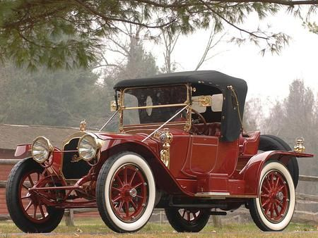 1913 Packard Model 1-38 Runabout - (Packard Motor Car Company Detroit, Michigan 1899-1958)