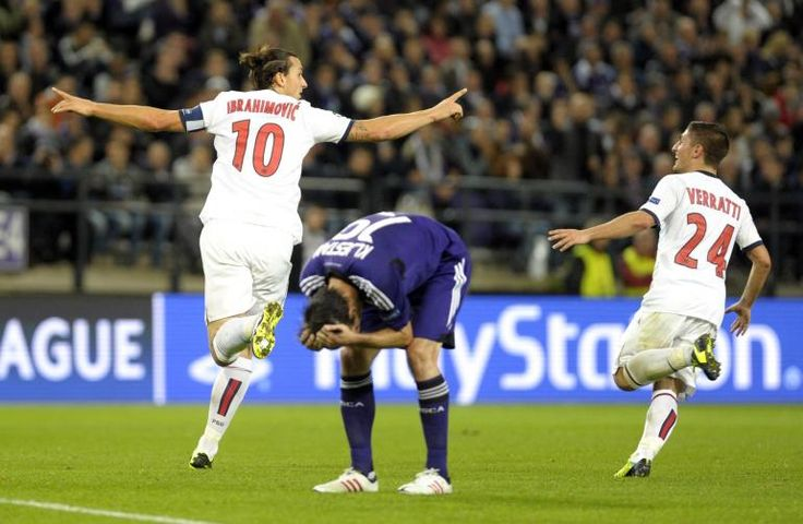 VIDEO PSG 5 - 0 Anderlecht: Zlatan Ibrahimovic Scores 4 Amazing Goals For Paris Saint-Germain.