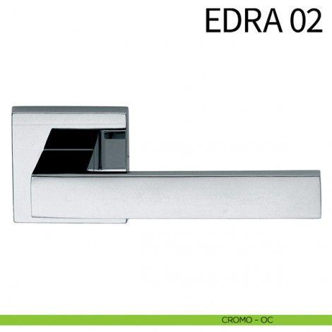 Maniglia per porta Edra 02 dnd by Martinelli cromo