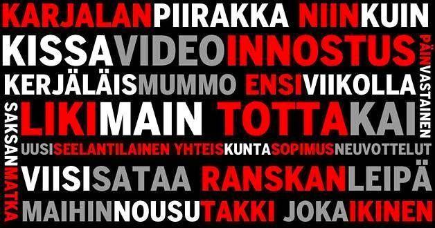 Testaa osaatko kirjoittaa suomea?