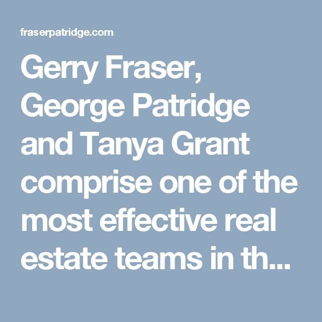 Gerry Fraser, George Patridge and Tanya Grant comprise one of the most effective real estate teams in the Central Okanagan, The Fraser Patridge Group. It is our passion for real estate that sets us apart. #listings #justlisted #homes #realestate #kelowna #kelownahomesforsale