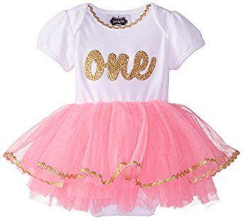 Mud Pie Baby Girl's Birthday Tutu Dress