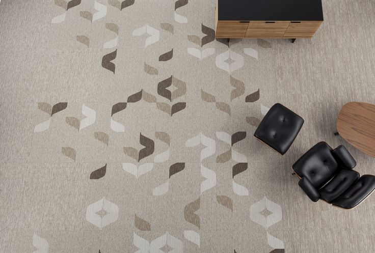 Three patterns within the Kai Collection interpret iconic symbols of the surfing counter culture with a range of scale and texture. #modularcarpet #designtrends #officedesign #educationdesign #designinspiration #flooring #floorcovering