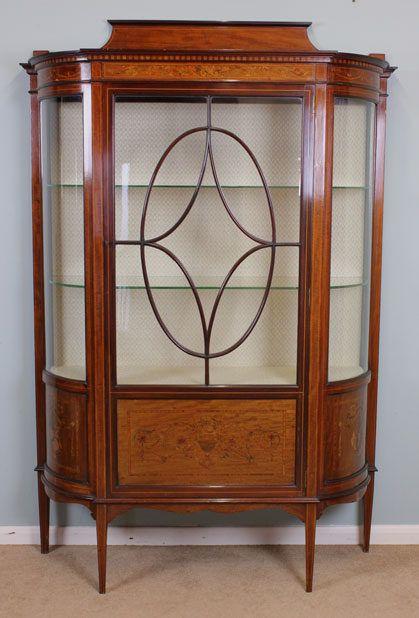 Edwardian Antique Display Cabinet | CHINA CURIO CABINETS | Pinterest | Antique  display cabinets, Antiques and Cabinet - Edwardian Antique Display Cabinet CHINA CURIO CABINETS Pinterest