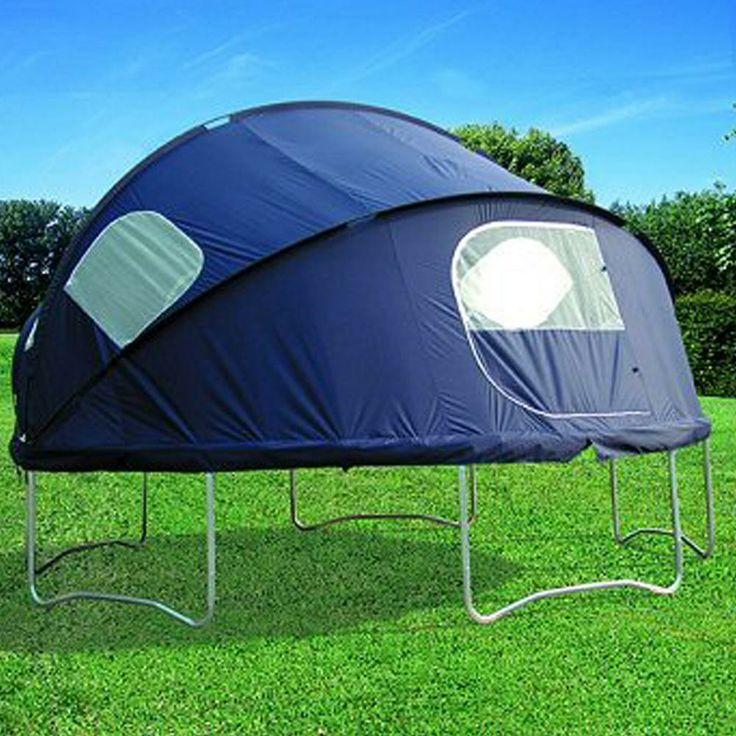 A trampoline tent! GENIUS!