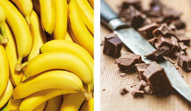 Sund bananasplit med kokoscreme | MichelleKristensen.dk