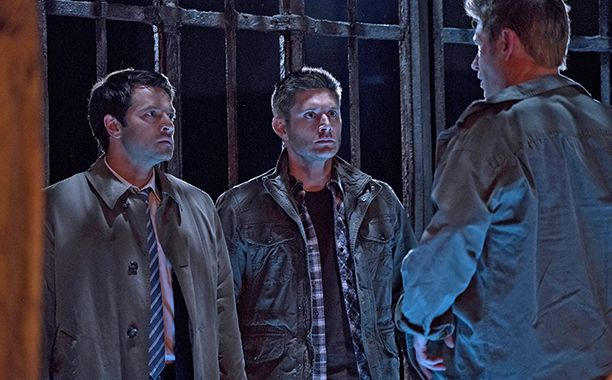 Supernatural: Dean and Cas face off against Lucifer in the cage   EW.com