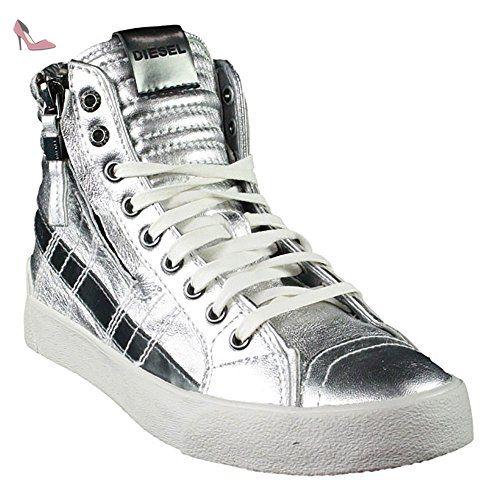 Diesel , Baskets pour femme argent Silber - argent - Silber, - Chaussures diesel (*Partner-Link)