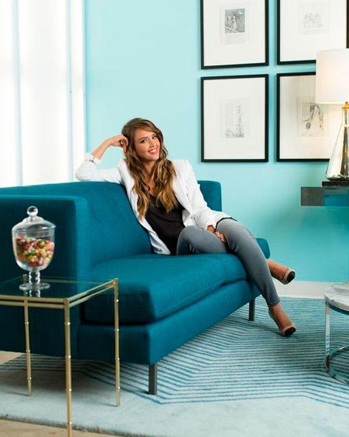 Las oficinas de Jessica Alba en The Honest Company