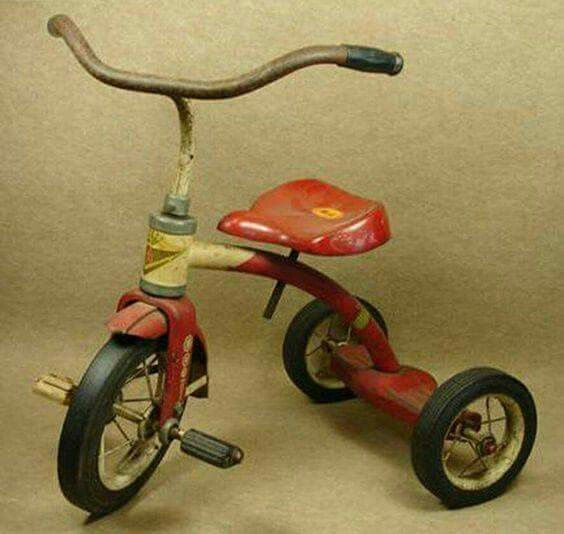 I have a scar on my foot from trying to stop myself by dragging it on concrete while riding one of these. Good times