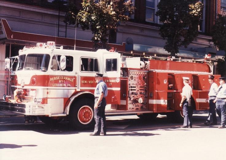 Perserverance Fire Co Lebanon, PA Fire trucks