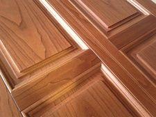 Pannello costruito in castano verniciato vero legno