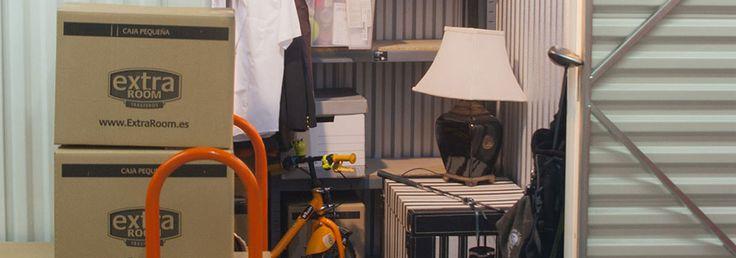Los Minitrasteros de ExtraRoom son la solución ideal para desahogo de espacio o para guardar bicicletas