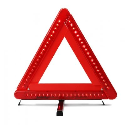 Eclairage d'avertissement LED triangle 60 LEDS