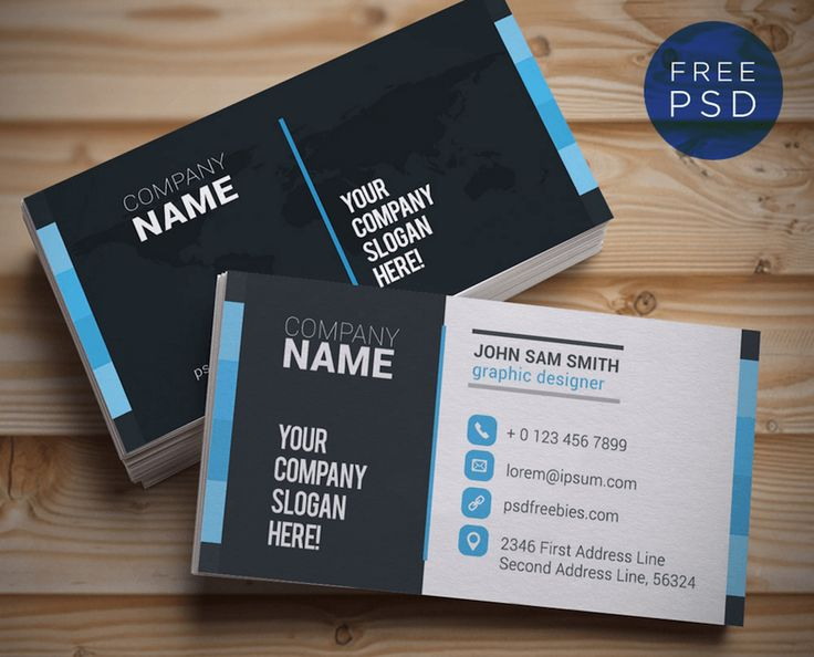 41 best Free Business Card Templates images on Pinterest - free sample business cards templates