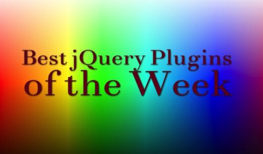 Best jQuery Plugins of the Week [8th September-14th September]