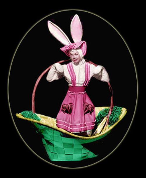 Image result for vintage  color easter images with movie stars