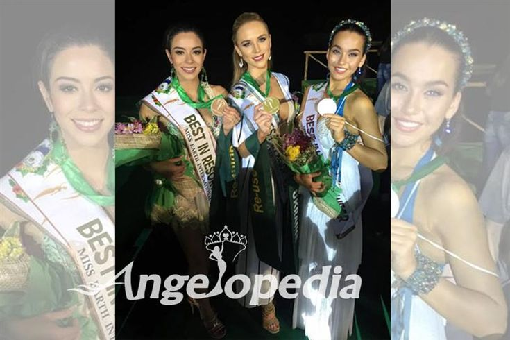 Here are the Miss Earth 2016 Group 1 Resort Wear Winners