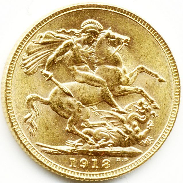 1918 BOMBAY MINT KING GEORGE V GOLD FULL SOVEREIGN COIN, Indian Gold Coins, Gold Sovereigns, Half Sovereigns, Gold Coins For Sale in London, Quality Gold Coins, 1stsovereign.co.uk #GoldCoins